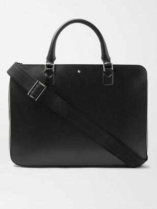 Montblanc Meisterstuck Leather Briefcase - Men - Black