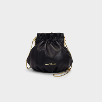 Marc Jacobs The Soiree Bag In Black Leather