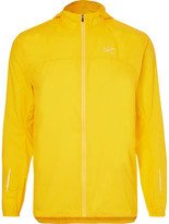 Arc'teryx Slim-fit Incendo Lumin Shell Running Jacket - Bright yellow