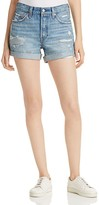 Levi's 501® Cuffed Shorts in Highway Blues