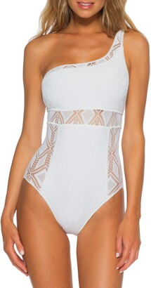 Becca Color Play Asymmetrical One-Piece Swimsuit