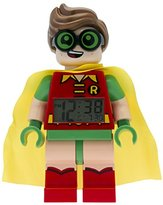 LEGO Batman Movie Robin Kids Minifigure Alarm Clock | red/green | plastic | 9.5 inches tall | LCD display | boy girl | official