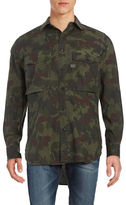 G Star Camouflage Button-Front Shirt