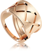 Rebecca Melrose Yellow Gold Over Bronze Ring