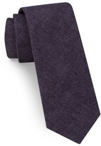 Ted Baker Men's Solid Skinny Cotton Tie
