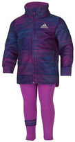 adidas Girls 2-6x Printed Tricot Jacket Set