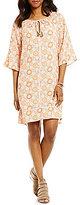 Sigrid Olsen Signature Mixed Print Dress