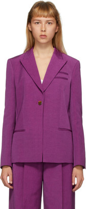 PARTOW Purple Easton Blazer