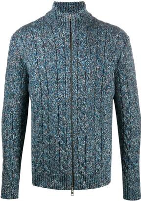 Etro Boucle-Knit Cardigan