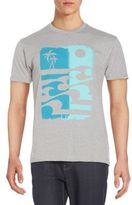 Body Rags Op Wave Graphic Tee