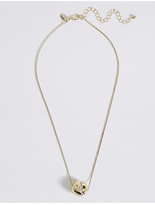 M&S Collection Floating Ball Necklace