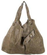 Diane von Furstenberg Textured Leather Shoulder Bag