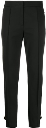 Escada tapered D-ring detail trousers
