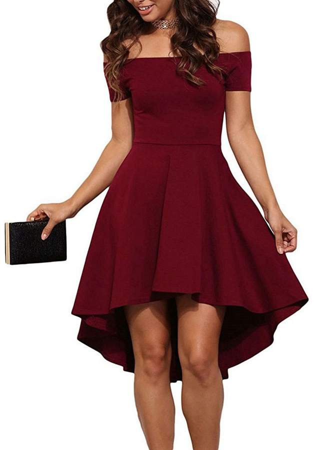 f5955f08c3e Red Skater Fit And Flare Dress - ShopStyle Canada
