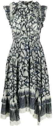 Ulla Johnson Amalia printed midi dress