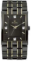 Bulova Men's Diamond Dial Watch