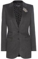 Dolce & Gabbana Embellished cashmere blazer