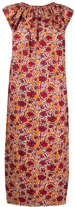 Marni Psychedelic Rose-Print Dress