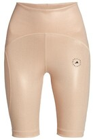 Thumbnail for your product : adidas by Stella McCartney Shiny Recycled Bike Shorts