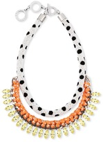 Forest of Chintz Masai Dalmation Necklace