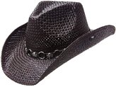 Peter Grimm Ltd Men's Vado Skulls And Rings Hat Band Straw Cowboy
