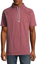 Arizona Short Sleeve Funnel Neck Sweatshirt