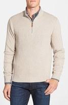 Nordstrom Men's Cotton & Cashmere Rib Knit Sweater