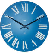 Alessi Firenze Wall Clock Blue