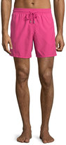 Vilebrequin Moorea Solid Swim Trunks, Pink