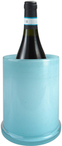 Artland Sky Blue Glass Wine Chiller