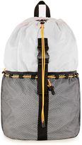 Topman Light Gray Ripstop Backpack