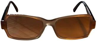 Marni Beige Plastic Sunglasses
