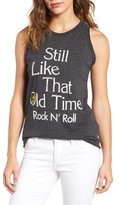 Junk Food Clothing Women's Old Time Rock 'N' Roll Tank