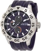 Nautica Men's BFD 100 Multi N15606G Resin Quartz Watch with Dial