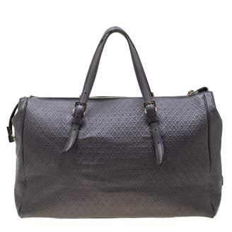 Tod's Grey Leather Handbags
