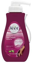Veet Gel Hair Remover Cream, Sensitive Formula, 13.50 Ounce