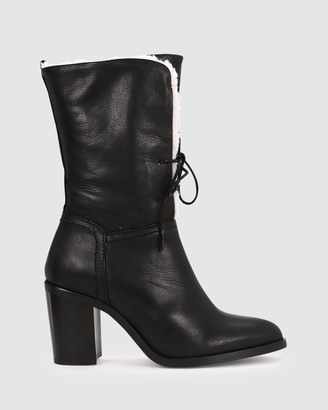 EOS Women's Black Lace-up Boots - Nomi - Size One Size, 38 at The Iconic