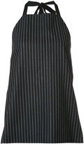 Josh Goot tailored apron top - women - Viscose/Wool - XS