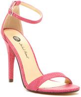 Michael Antonio Jaxine Snake Print High Heel Sandal