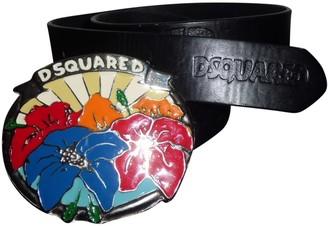 DSQUARED2 Multicolour Leather Belts