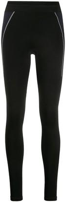 Falke Contrasting Side Panel Leggings