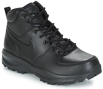 Nike MANOA LEATHER BOOT men's Mid Boots in Black