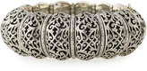Konstantino Wide Filigree Bangle Bracelet