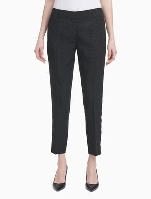 Calvin Klein Shadow Dot Suit Pants