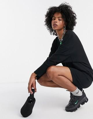 Noisy May mini sweater dress in black