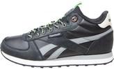 Reebok Mens Royal Classic Jogger Trainers Black/Flat Grey/Stucco/Solar Green/White