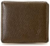 Louis Vuitton Pre-Owned Box-Style Coin Purse In Brown Leather