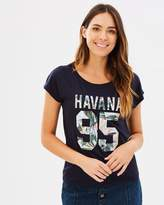 Only Beccy SS Havana Top
