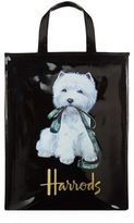Harrods Medium Westie With Lead Shopper Bag
