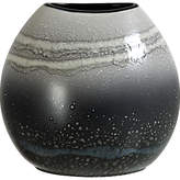 Poole Pottery Aura Purse Vase, Black/Multi, H20cm